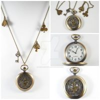 The White Rabbit's Pocket Watch by ArchandSoul