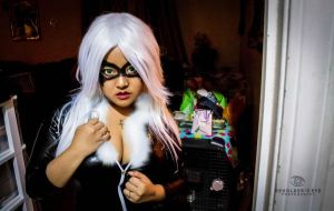 Cannot be Tamed - Black Cat (Marvel) Cosplay by beholderseyephotos