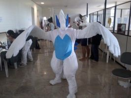 Lugia cosplay no Anime Nation 2011 by sakurabruna