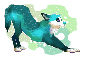 Shinyrainbowthing Commission by TigerChic