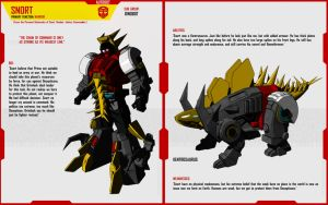 DINOBOT SNORT by F-for-feasant-design