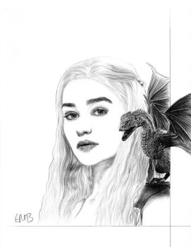 The Mother of Dragons by emorganb94