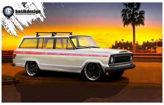 Jeep WagOneer by basikdesign