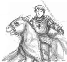 APH: Teutonic knight by deathbybroccoli