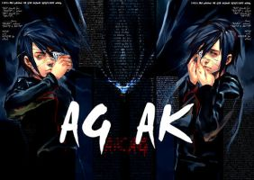 Agito and Akito in AirGear by u-ness