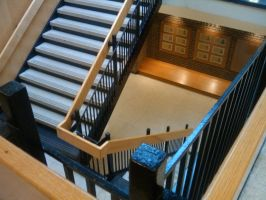 winding staircase by niggyd