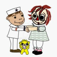 Haunted Doll OTP by HCShannon