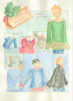 {Spirk Advent} ~ Day 02 Christmas Sale by AmberSquash