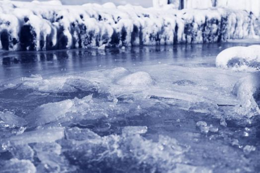 Icy Ground 2 by PhotonicBohemian
