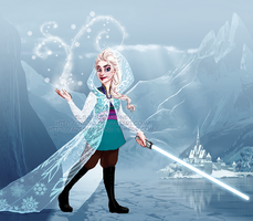 Disney Wars - Elsa by naima