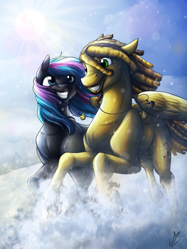 Winter Love Land by LupiArts