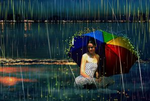 Colorfull Rain by chevronguy