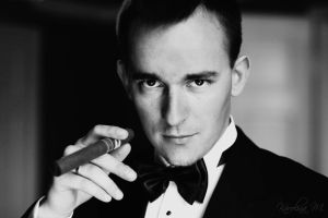 my name is Bond by blooding
