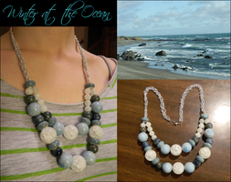 Winter at the Ocean Necklace by DOC-Ash1391