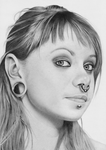 Beautiful French Chick by lameartist