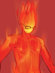 Undertail: Grillby 2 by Fulcrumisthebomb