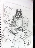 Home room teacher: Mr. Pax by wulongti
