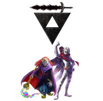 The Legend of Zelda: Yuga and Ghirahim by Legend-tony980