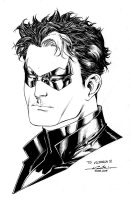 Jason Todd portrait by SpiderGuile