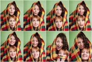 faces by JVasiliev
