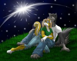 Stargazing by kittifox