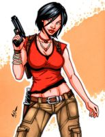 Chloe Frazer commission by gb2k