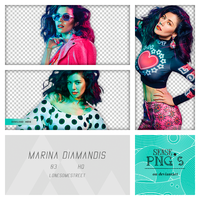 Pack Png 134 - Marina Diamandis by SensePngs