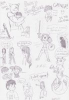 Percy Jackson doodles CB by UltimateGodzookyFan