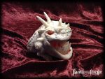 LARP PET: Albinus Silente  custom Squig I by FantasyForgeLARP