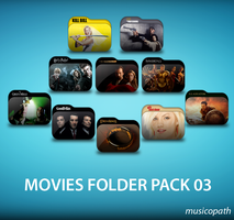 Movie Folders Pack-03 by musicopath