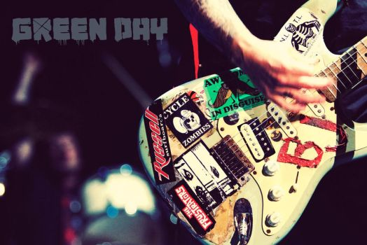 Green Day Wallpaper by ChrisAndHisGuitar