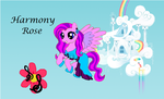 Harmony Rose (Paint) by whitewolfdreamer27