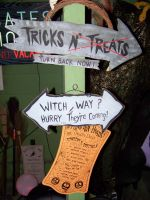 Halloween Signs by Dream-finder