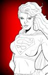 Supergirl tribute by nathanobrien