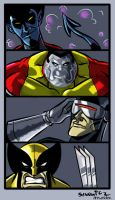 spaghetti016 My Favorite X-Men by DrewEiden