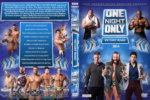 TNA Victory Road 2014 DVD Cover by Chirantha