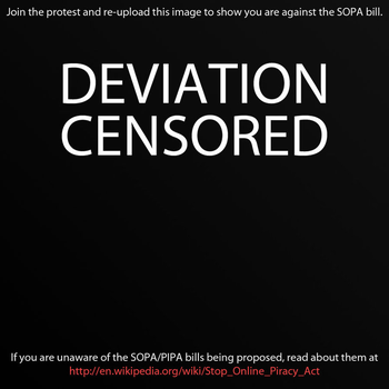 CENSORED BY SOPA by 1amLinK