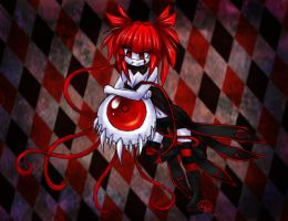 Harlequin girl Gift by 42-Mystical-rox-4eva