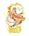 White Pumpkin! - Entry 1 by Kitkaloid