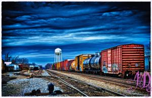 Thunder on the Rails by photographs-by-day