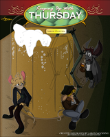 KUWT: Issue 11 .:St. Patrick's Day Variant Cover:. by KUWTComicsInc