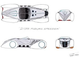 1230 - 23-03 - 2135 Auburn Speeder by TwistedMethodDan