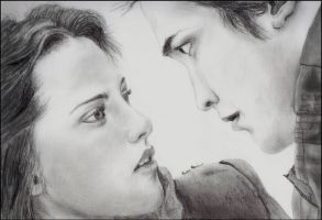 Bella and Edward by NicoleRylie