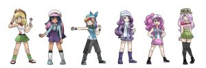 My Little Pokemon Trainer by kilala97