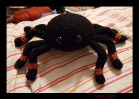 amigurumi spider by VML1212