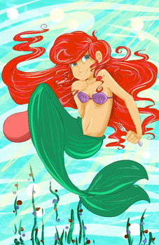Little Mermaid by breckert