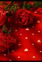 Red roses II by beads-poet