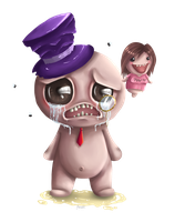 The Binding Of Zombey by anouki-morgenstern