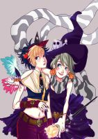 witches sisters by angeloluha