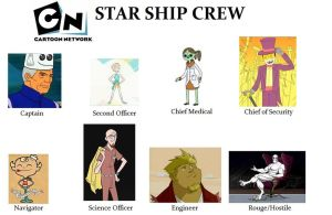 starship crew meme - Cartoon Network by BurningResurrection